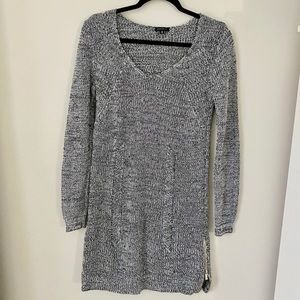 DYNAMITE Grey Knit Dress.